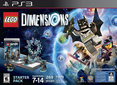 Warner Brothers Lego Dimensions Starter Pack Ps3 Playstat...