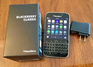 BlackBerry Classic in excellent shape