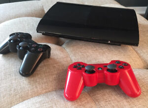 Playstation 3 Slim 500Gb Console with 26 games