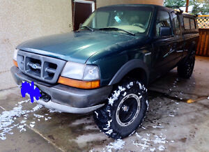 1998 Ford Ranger Pickup Truck 4x4