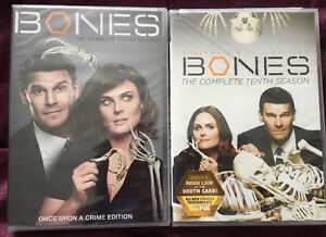 DVD Bones season 8 and 10