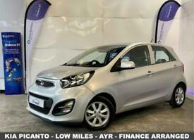 image for 2013 63 KIA PICANTO 1.0 2 5D 68 BHP-LOW MILEAGE AND LOW RUNNING COSTS-