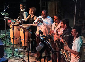 LATIN BAND FOR HIRE. (SALSA,CUMBIA,MERENGUE) AUTHENTIC Stratford Kitchener Area image 2