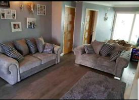 High quality Verona 3 + 2 grey sofa