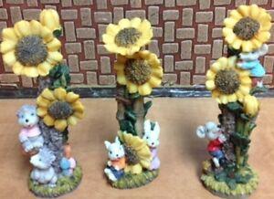 Pâques: Décorations  figurines et oursons 1.00$ à 10.00$ ch