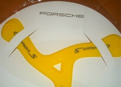 Germany PORSCHE CAYMAN S PROMOTION exclusive limited Boomerang yellow Outdoor
