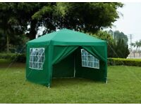Large gazebo with sides 3m X 3m, used once and now surplus ro requirements.