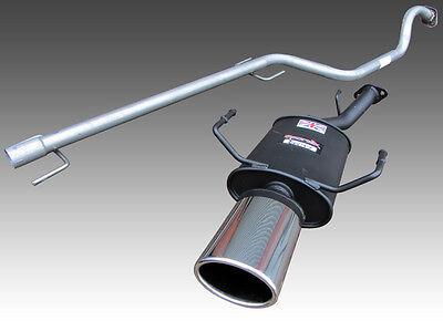 Zafira A 1.6 1.8 Sportex Exhaust plus Race Tube System - Oval