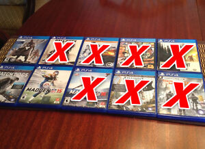 PS4 Games - NEW LOWER PRICES Peterborough Peterborough Area image 1