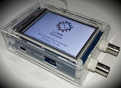 Uce-dso210 3.2 Tft Digital Oscilloscope 10msps 2 Ch Probe Acrylic Case