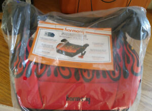 Harmony Youth Booster Seat - Red Flames
