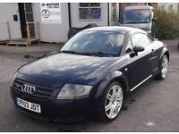 2003 (03) Audi TT Coupe 1.8 T Quattro (225 bhp) Blue - 73k mls