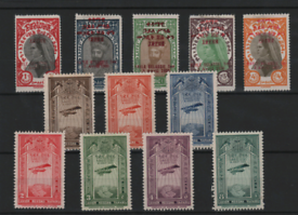 Stamps on 8 stockcards mint and used ,diferent countries