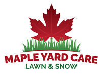 Spring Clean Up and Lawn Maintenance