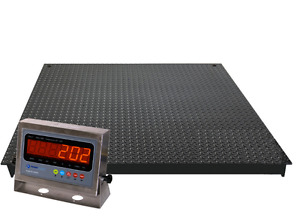 NEW 4X4 FT INDUSTRIAL PALLET FLOOR SCALE 10,000 LBS 1 LBS