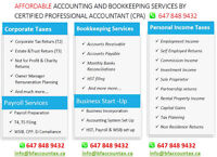 EXPERIENCED BOOKKEEPER/ACCOUNTANT (Quickbooks Online)