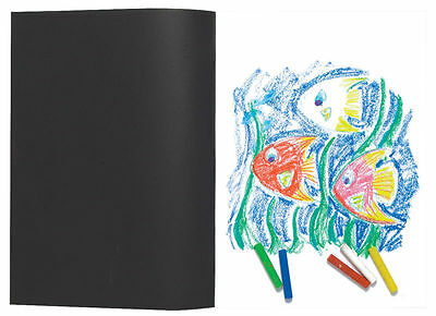 A5/A4/A3 Black Sketch Book Pad 110gsm Brilliant White Artist Drawing Sketching