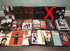 Lot of DVD movies and box sets, OBO