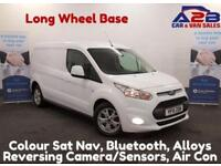 2015 15 FORD TRANSIT CONNECT 1.6 240 LIMITED 115 BHP, LONG WHEEL BASE, COIOUR S
