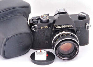 Mint Rolleiflex Black SL35 Camera with Planar f1.8/50mm lens London Ontario image 1