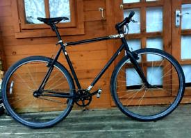 Charge Plug single speed fixie Road Hybrid bike Fast speed bike XL