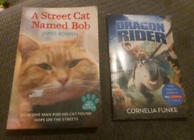 X2 books 50p each
