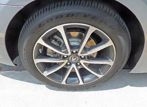 Brand new condition 225 50 r18 goodyear summer tires