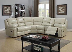 7 pcs Sectional Recliner sofa ste New $1499.