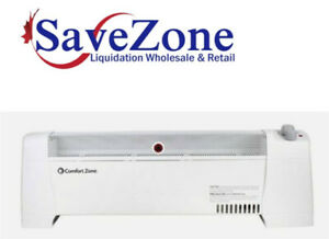 NEW- Comfort Zone Convection Baseboard Heater