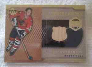 Bobby Hull Hockey Card 500 Goal Club Upper Deck