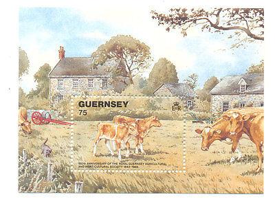Guernsey-Cows min sheet mnh