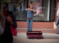 Street performers and buskers
