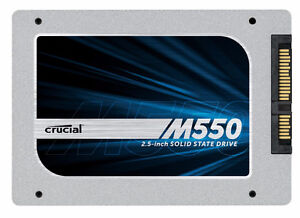 """Crucial M550 Commercial Grade 1TB 2.5"""" SSD Solid State Drive"""