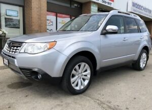 2012 Subaru Forester 2.5X TOURING ONLY 65000KM