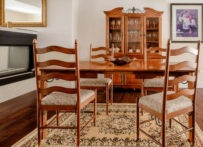 Delightful 7 Piece Antique Dining Room Sets