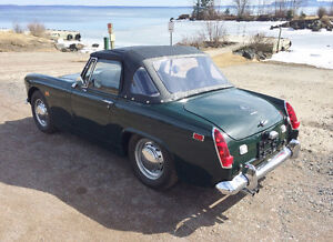 1969 MG Midget Restoration Running - will safety