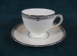 Wedgwood Amherst Bone China Cup and Saucer Set Made in England