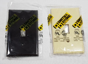 (2) Smith & Stone Light Switch Cover (Beige or Dk. Brown) 2/$1
