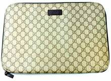 Gucci GG Coated Canvas Laptop Case 14' - Brown West Perth Perth City Preview