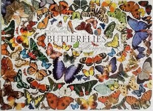 Jigsaw puzzle , 1000 pieces butterflies