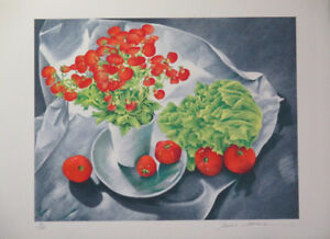 Limited Ed Lithograph Print by Sandra Lawrence!
