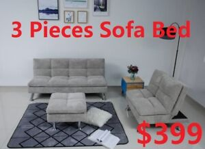3-PIECE SOFA BED SET FOR 399 ONLY!!!