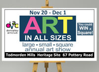 Don Valley Art Club - ART IN ALL SIZES - large, small, square