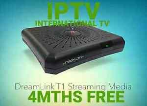 SPECIAL FREE 4MTHS IPTV DREAMLINK T1 INTERNATIONAL TV