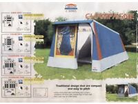 Cabanon Tent - A really good water/windproof Cabanon 'Champagne' 4 berth frame tent.