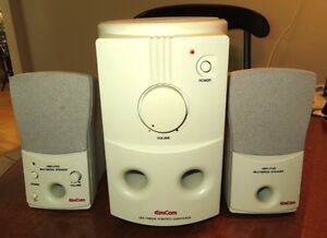 EMCOM Multimedia Subwoofer Speakers in excellent Condition Gatineau Ottawa / Gatineau Area image 1