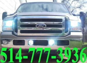 FORD LED KIT HID XENON CONVERSION CAR HEADLIGHTS INSTALLATION