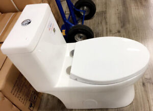 High Efficiency One Piece Toilet - T-M6137-25 PERCENT OFF