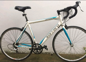 "Carrera virtuoso Road bike. 21"" large frame. 700cc Wheels. Fully Works"