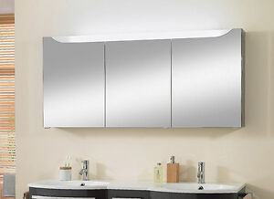 spiegelschrank 150 m bel ebay. Black Bedroom Furniture Sets. Home Design Ideas